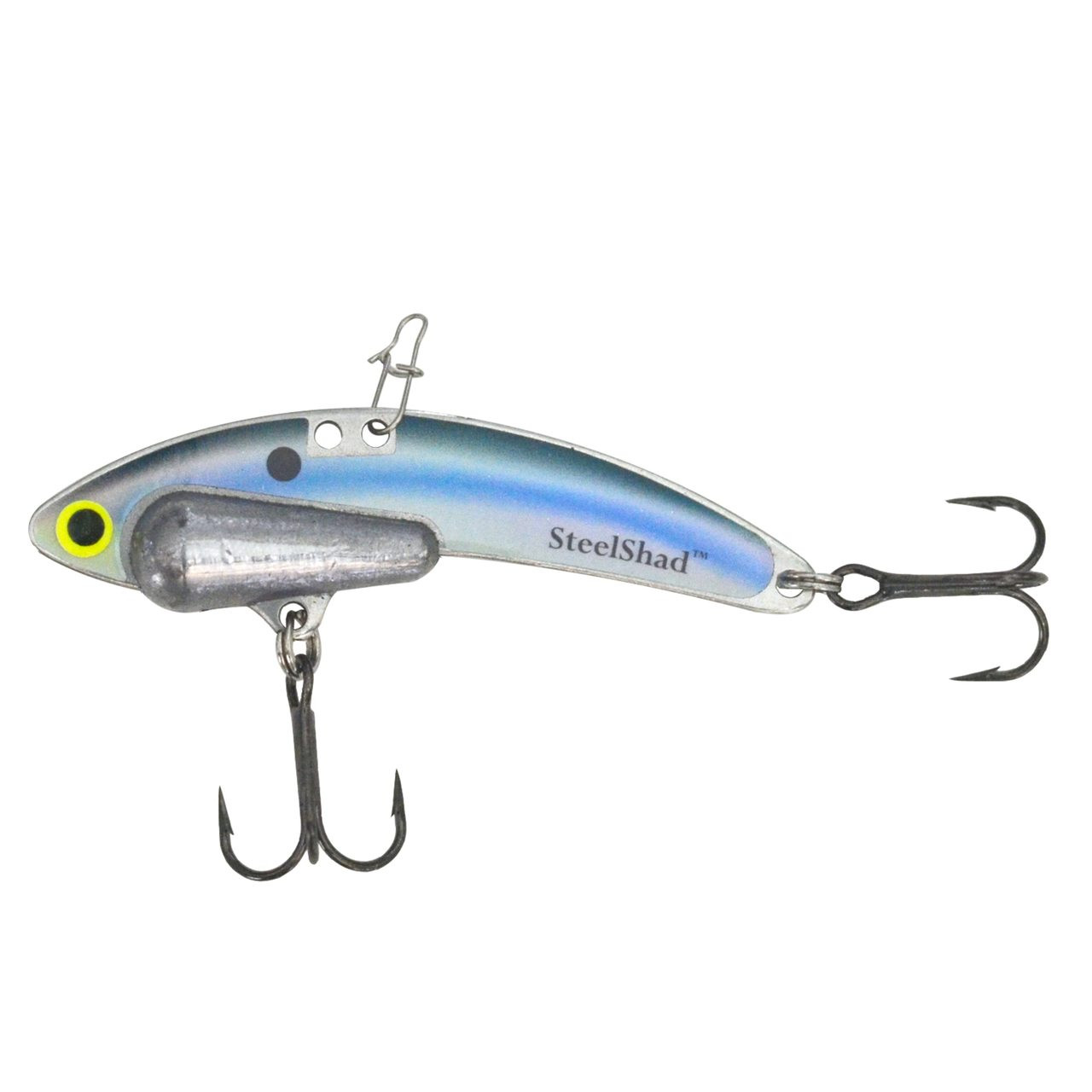 Kentucky Shad Heavy Series - 1/2 oz., #8 VMC Black Nickle Hooks, and Line Clip