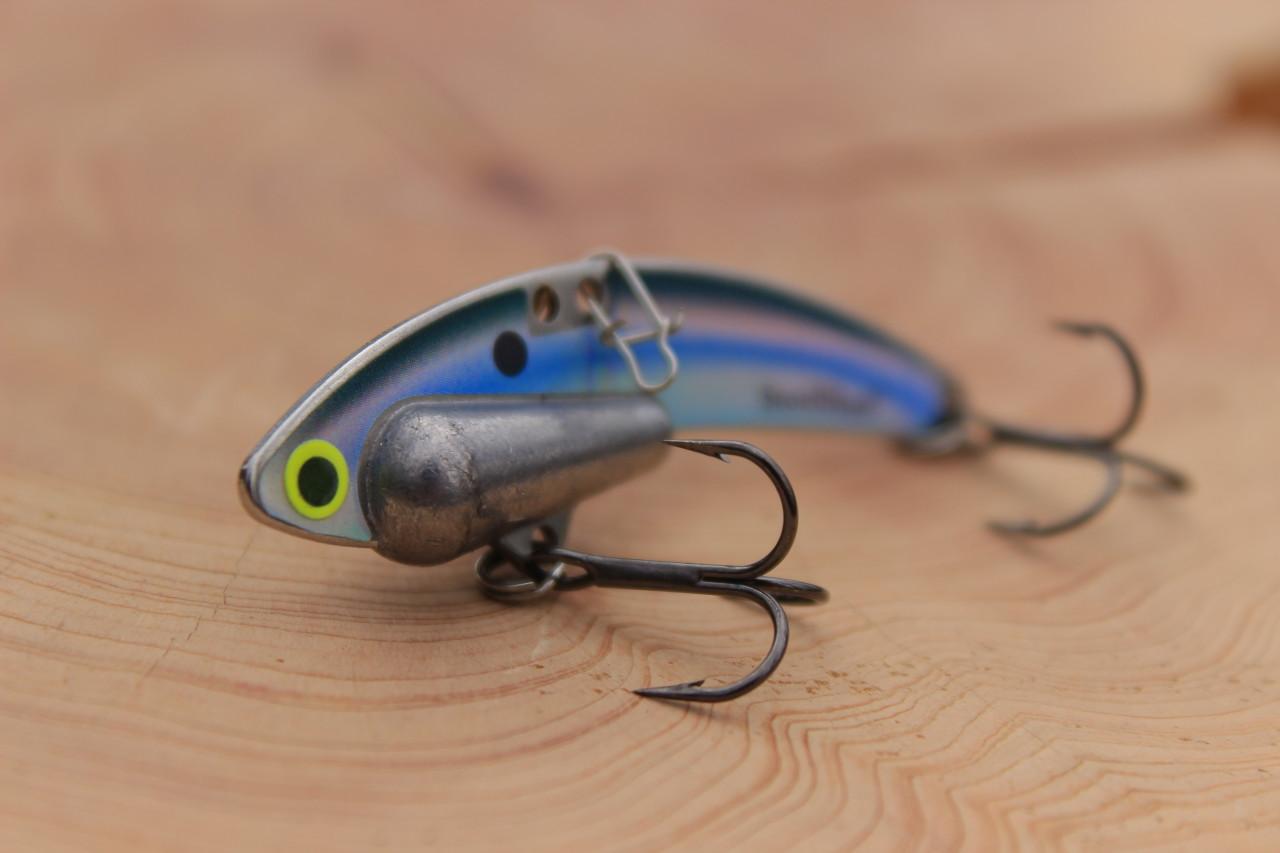 Kentucky Shad Heavy Series - 1/2 oz., #8 VMC Black Nickle Hooks, and Line Clip