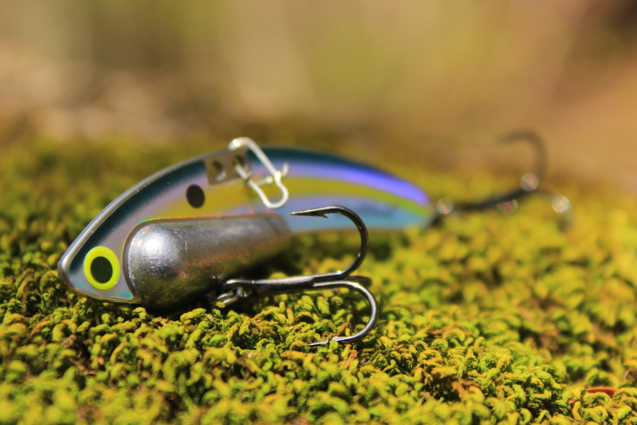 Sexy Shad Heavy Series - 1/2 oz., #8 VMC Black Nickle Hooks, and Line Clip