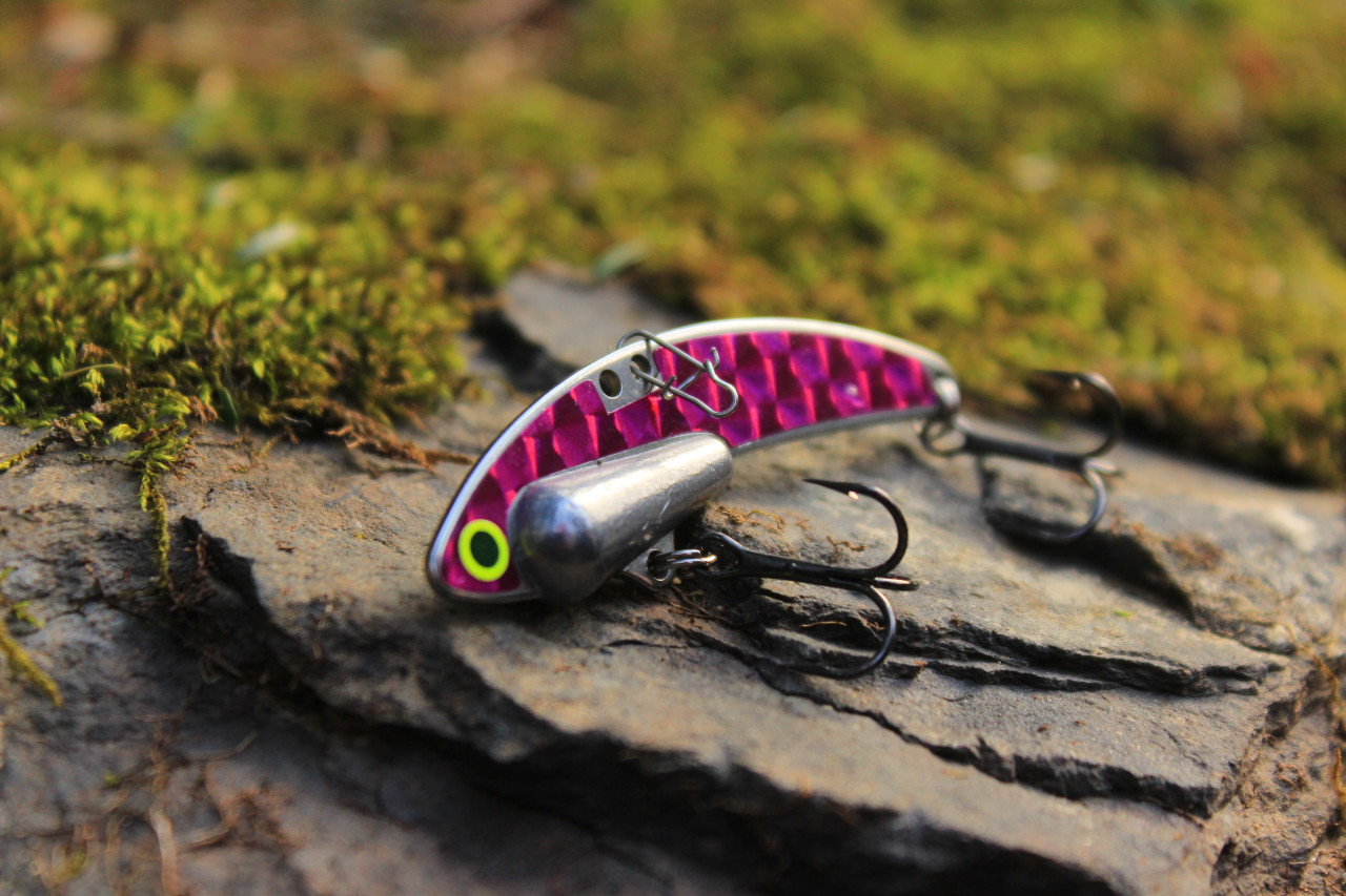 Purple Heavy Series - 1/2 oz., #8 VMC Black Nickle Hooks, and Line Clip