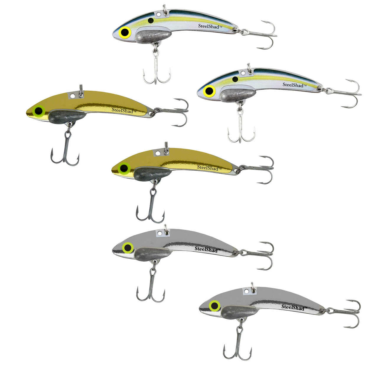 SteelShad Mini Madness 3 Pack