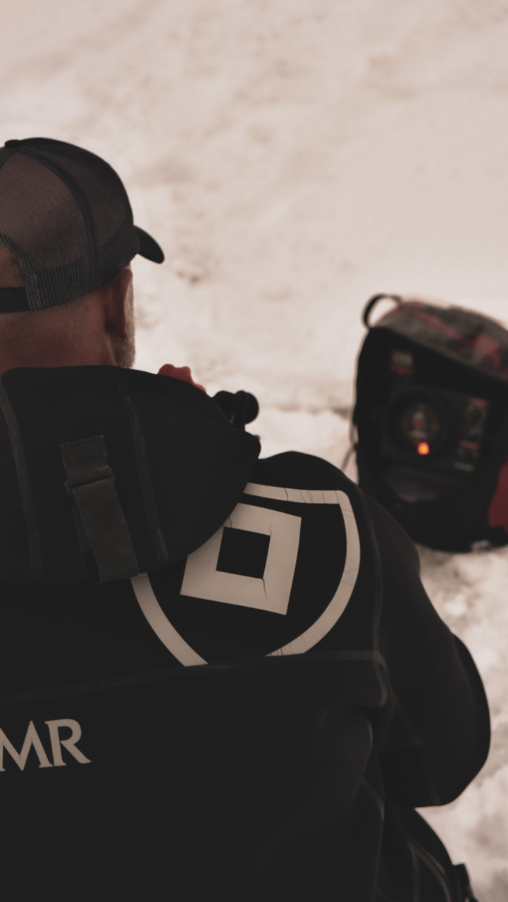 Blackout Hat - Black - White Logo/Silver Lure