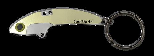 SteelShad Gold Key Ring
