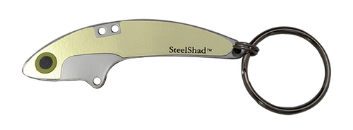 SteelShad Gold Key Ring