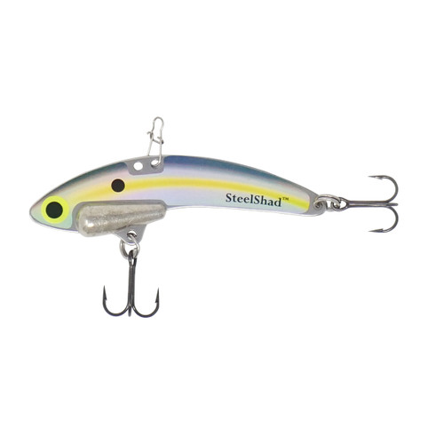SteelShad Elite Series - 3/8 oz. - Sexy Shad - Tin Weight, Line Clip, #6 Black Nickle Hooks