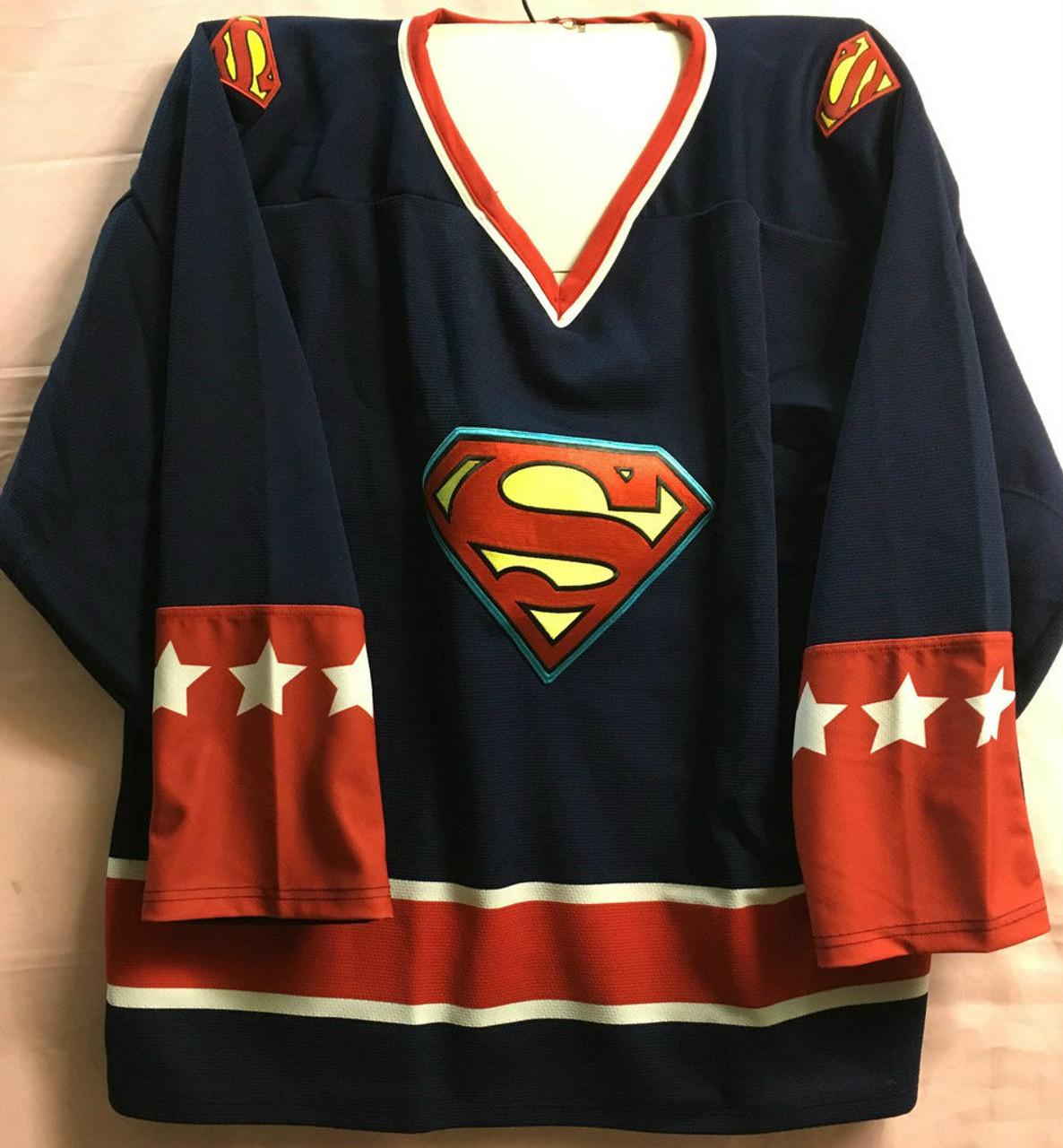 Superman Classic Hockey Jersey - MTCToys.com d8fc8602d1d