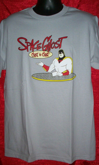 Space Ghost Mens Unisex T-Shirt - Available in Sm to XL 100% Cotton High Quality Pre Shrunk Machine Washable T Shirt