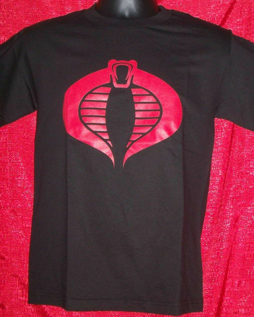 G.I. Joe Cobra Adult Unisex T-shirt - Available in Sm to xxL 100% Cotton High Quality Pre Shrunk Machine Washable T Shirt