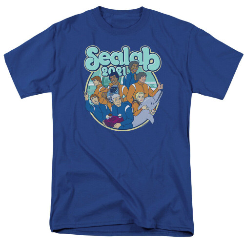 Sealab 2021 Cartoon Networks Adult Swim Adult Unisex T-Shirt -Available Sm to 3x 100% Cotton High Quality Pre Shrunk Machine Washable T Shirt