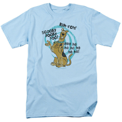 "A new Scooby Dooby Doo ""He He Hee"" Adult Unisex T-Shirt, Available Sm to 3x 100% Cotton High Quality Pre Shrunk Machine Washable T Shirt"