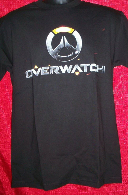 Adult Unisex Overwatch Logo T-Shirt - NEW! - Available in Sm to xxL 100% Cotton High Quality Pre Shrunk Machine Washable T Shirt
