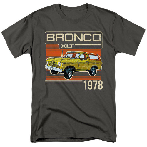 Ford Bronco XLT 1978 Mens Unisex T-Shirt. Available Sm to 3x 100% Cotton High Quality Pre Shrunk Machine Washable T Shirt
