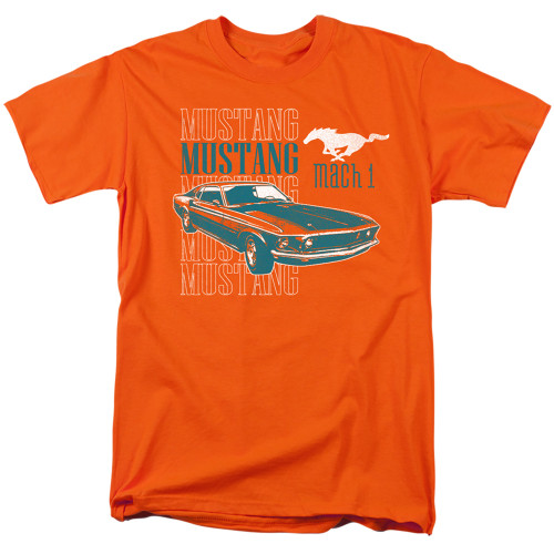 Ford Mustang Mach 1 Men's Unisex T-Shirt. Available Sm to 3x