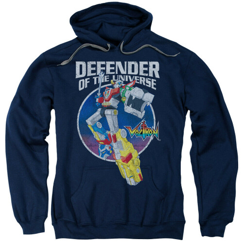 """Voltron """"Defender of the Universe"""" Mens Unisex Hoodie Available Sm to 3x 100% Cotton High Quality Pre Shrunk Machine Washable Hoodie"""