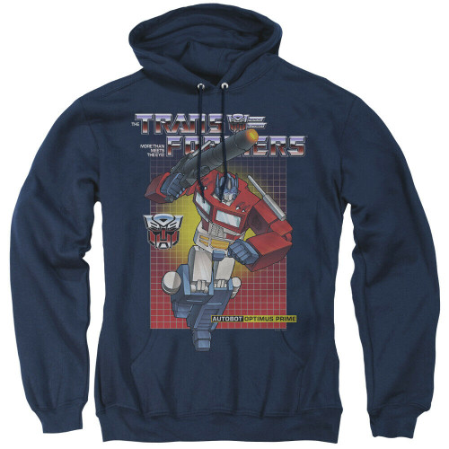 Transformers Optimus Prime Mens Unisex Hoodie Available Sm to 3x 100% Cotton High Quality Pre Shrunk Machine Washable Hoodie