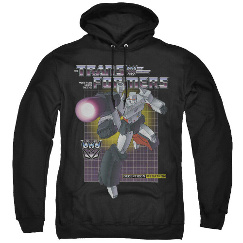 Transformers Megatron Mens Unisex Hoodie Available Sm to 3x 100% Cotton High Quality Pre Shrunk Machine Washable Hoodie