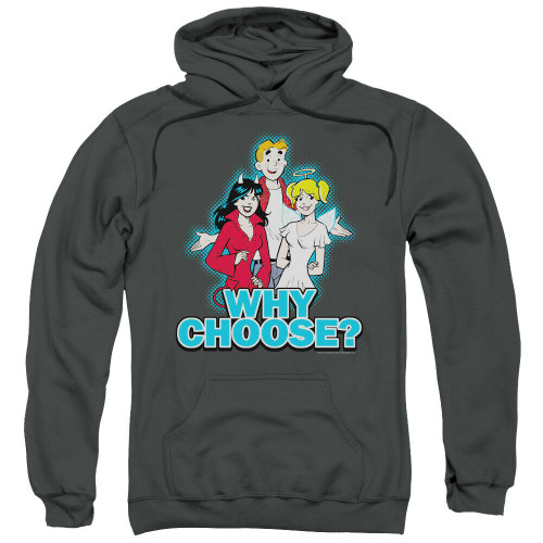"The Archies ""Why Choose"" Mens Unisex Hoodie Available Sm to 3x 100% Cotton High Quality Pre Shrunk Machine Washable Hoodie"