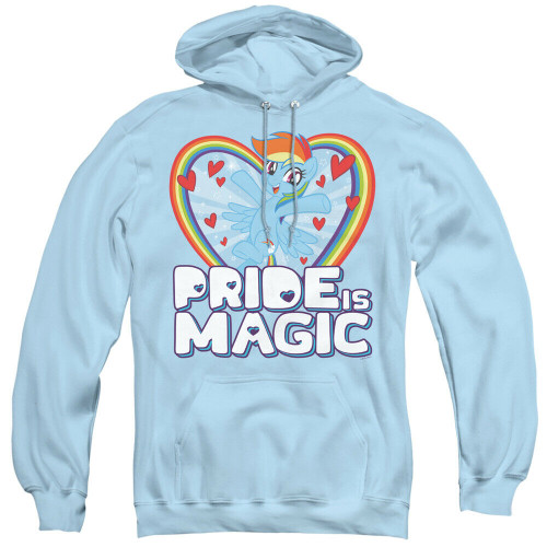 """My Little Pony """"Pride is Magic"""" Mens Unisex Hoodie Available Sm to 3x 100% Cotton High Quality Pre Shrunk Machine Washable Hoodie"""