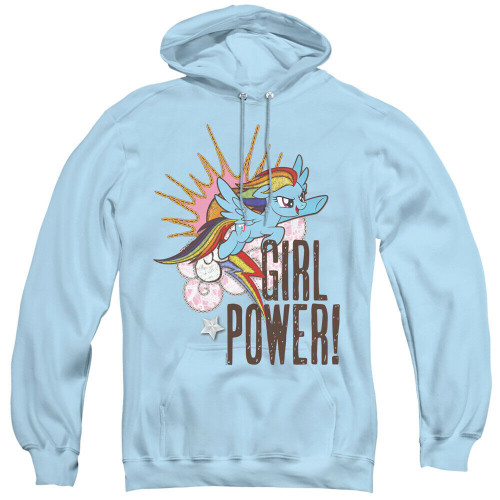"""My Little Pony """"Girl Power"""" Mens Unisex Hoodie Available Sm to 3x 100% Cotton High Quality Pre Shrunk Machine Washable Hoodie"""