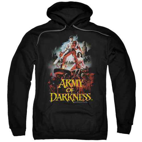 Army of Darkness {Bruce Campbell) Mens Unisex Hoodie Available Sm to 3x 100% Cotton High Quality Pre Shrunk Machine Washable Hoodie