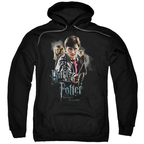 "Harry Potter ""Deathly Hollows"" Cast Mens Unisex Hoodie Available Sm to 3x 100% Cotton High Quality Pre Shrunk Machine Washable Hoodie"