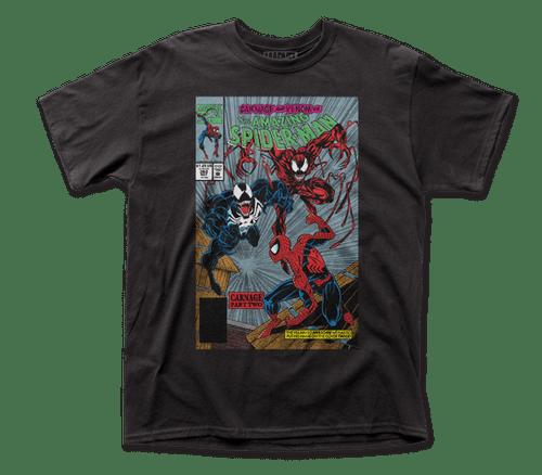 Spiderman-Carnage Pt 2 Mens Adult Unisex T-shirt 100% Cotton High Quality Pre Shrunk Machine Washable T Shirt