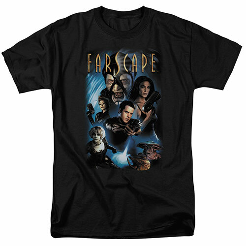Farscape Comic Cover adult unisex t-shirt