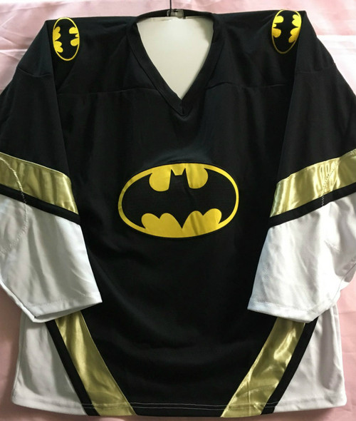 Classic Batman Hockey Jersey