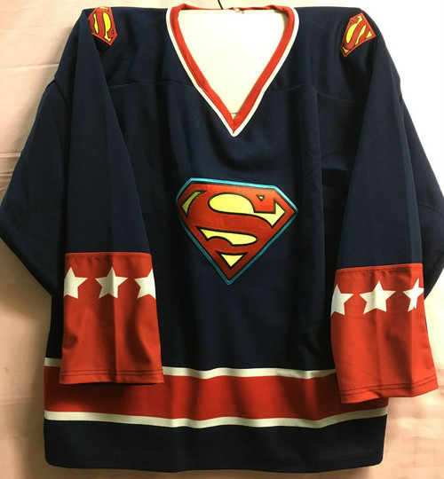 Superman Classic Hockey Jersey
