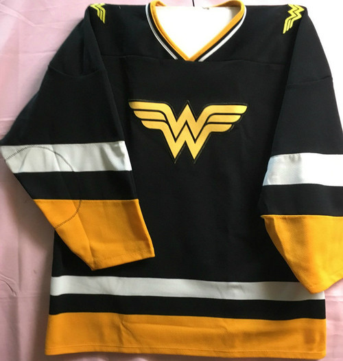 wonder woman hockey jersey