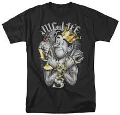 Archie-Jug life 100% Cotton High Quality Pre Shrunk Machine Washable T Shirt