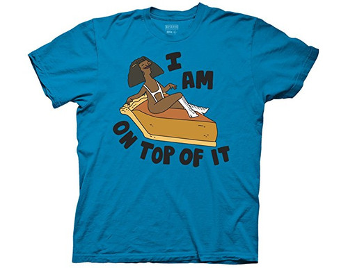 B ob's Burgers-I am on top of it 100% Cotton High Quality Pre Shrunk Machine Washable T Shirt