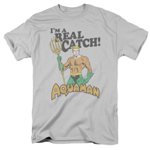 Aquaman Real Catch  adult unisex t-shirt