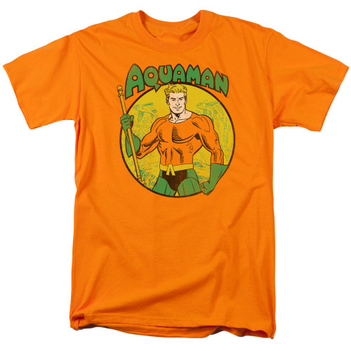 Aquaman 100% cotton high quality pre shrunk machine washable t-shirt