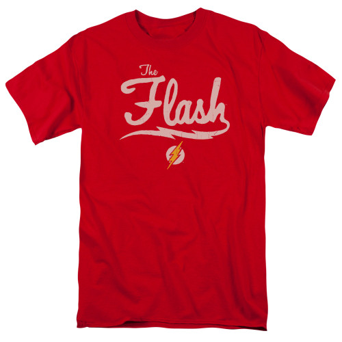 The Flash-Old School 100% Cotton High Quality Pre Shrunk Machine Washable T Shirt