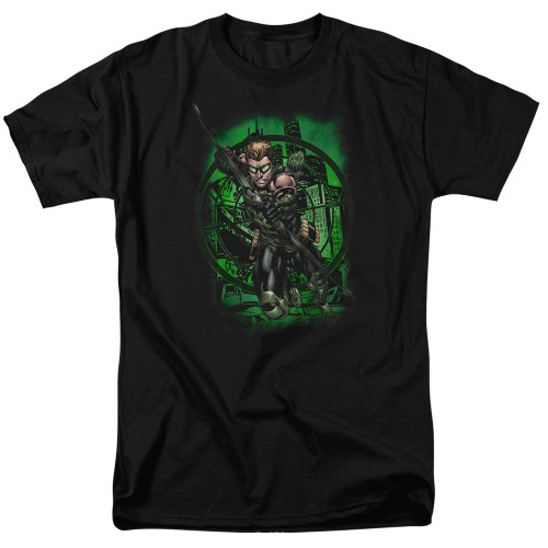 Green Arrow-In my sight 100% cotton high quality pre shrunk machine washable t-shirt