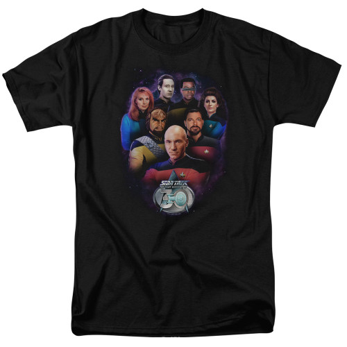 Star Trek Crew 30 100% Cotton High Quality Pre Shrunk Machine Washable T Shirt