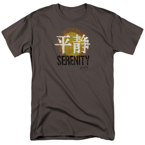 Firefly/Serentiy logo 100% Cotton High Quality Pre Shrunk Machine Washable T Shirt