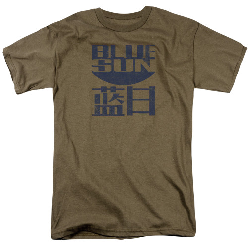 Firefly-Blue Sun 100% Cotton High Quality Pre Shrunk Machine Washable T Shirt