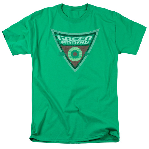 Green Arrow-Shield 100% cotton high quality pre shrunk machine washable t-shirt