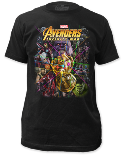 Avengers Infinity War adult unisex t-shirt