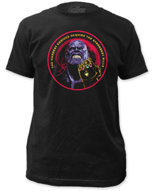 Avengers Infinity war Thanos 100% Cotton High Quality Pre Shrunk Machine Washable T Shirt