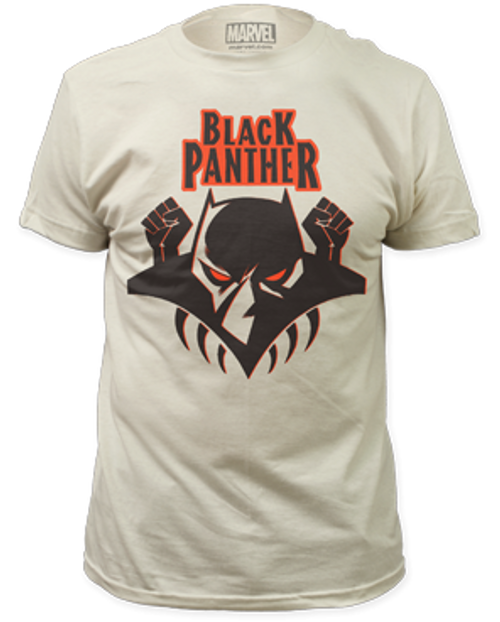 Black Panther logo 100% Cotton High Quality Pre Shrunk Machine Washable T Shirt