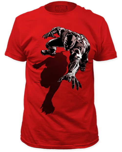 Black Panther shadow 100% Cotton High Quality Pre Shrunk Machine Washable T Shirt