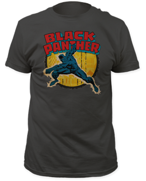 Black Panther punch 100% Cotton High Quality Pre Shrunk Machine Washable T Shirt
