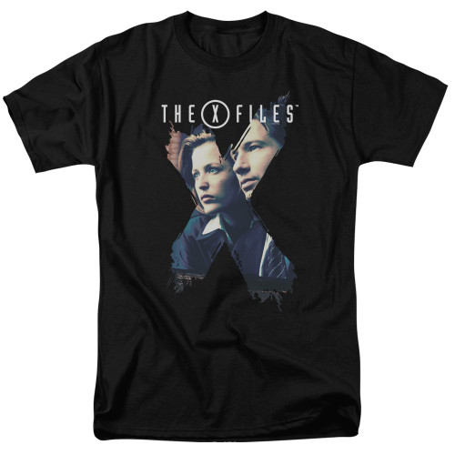 X-files x-agents 100% Cotton High Quality Pre Shrunk Machine Washable T Shirt