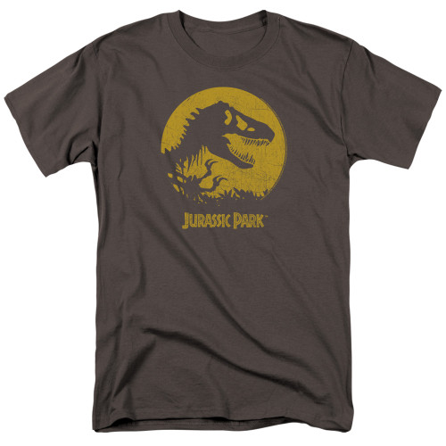 Jurassic Park-T-Rex Sphere 100% cotton high quality pre shrunk machine washable t-shirt