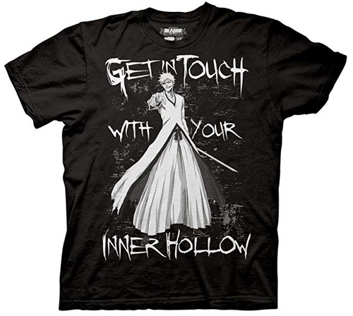 Bleach-Your Inner Hollow 100% Cotton High Quality Pre Shrunk Machine Washable T Shirt