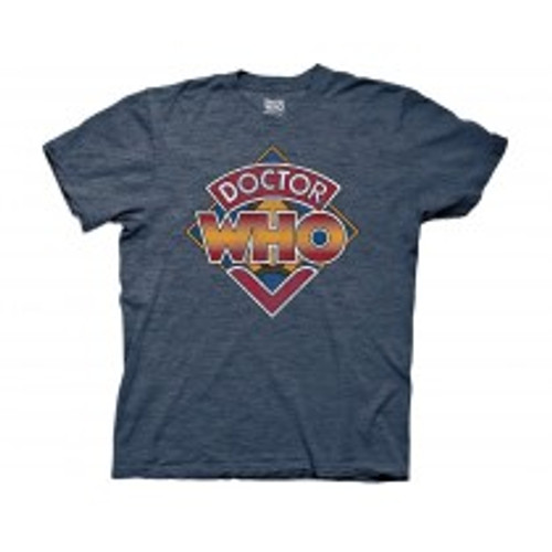 Dr Who -vintage who logo 100% Cotton High Quality Pre Shrunk Machine Washable T Shirt