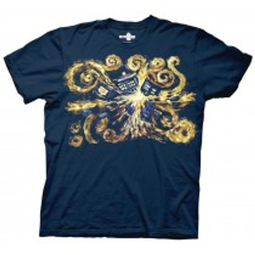Dr Who-Van gogh pandoric opens 100% Cotton High Quality Pre Shrunk Machine Washable T Shirt